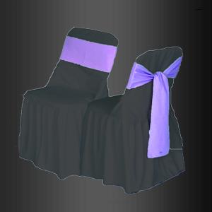 Silla con Funda Francesa de color con banda y moño