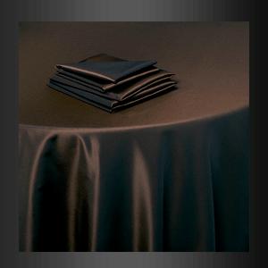 Mantel satinado chocolate