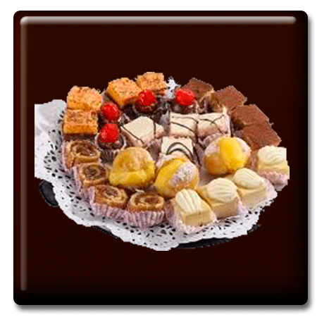 Petite Four y Chocolates